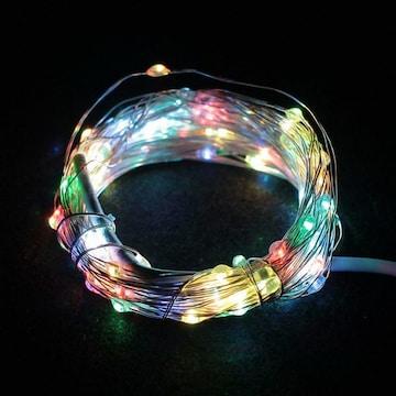 LED 큐빅 은하수 스트링라이트 100구