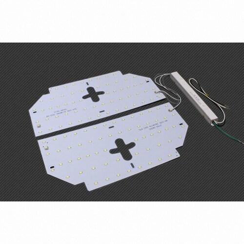 KM라이팅  LED 모듈 원형방등 50W 주광색_이미지