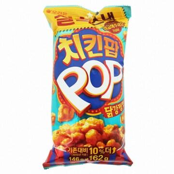 오리온 치킨팝 닭강정맛 162g (1개)_이미지