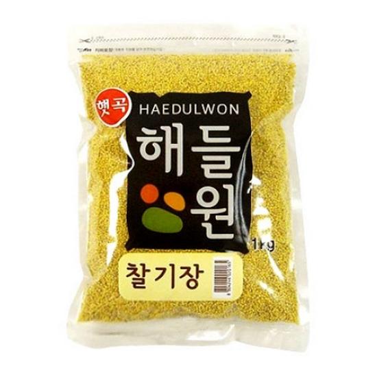 월드그린 해들원 찰기장 1kg(1개)