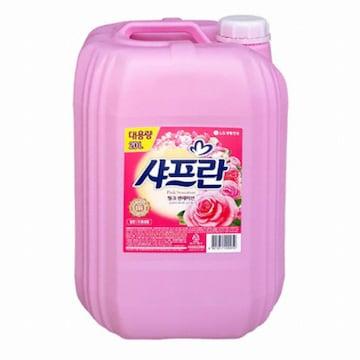 LG생활건강 샤프란 섬유유연제 20L (1개)
