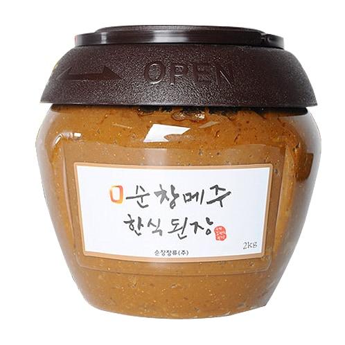순창장류 순창메주 한식된장 2kg (1개)_이미지