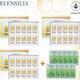 엘렌실라 CPP 프렌치 프로폴리스 82 리시스템 골드 앰플+마스크 40종 세트_이미지