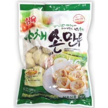 삼육식품 야채 손만두 1kg (1개)_이미지
