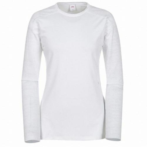 JDX골프  여성 가을 라글랑 라운드 티셔츠 X3PFTLW80WH_이미지
