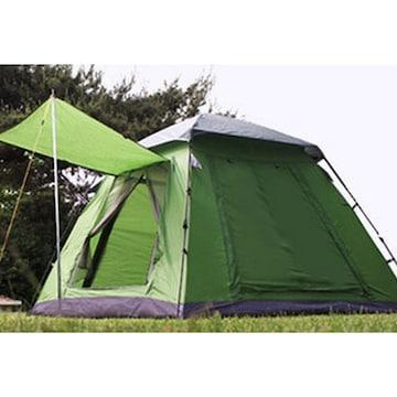 로티캠프 원터치 사각 텐트(4인용)