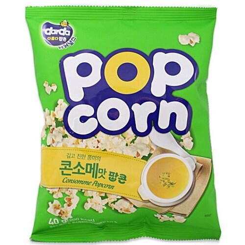 커널스 다르다 콘소메맛 팝콘 40g (4개)_이미지