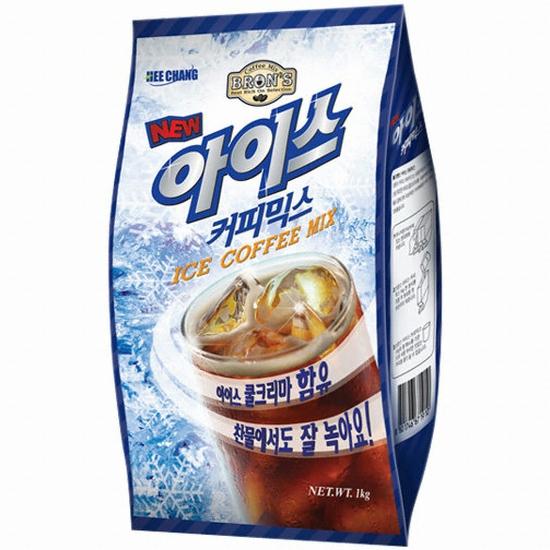 희창유업 브론스 아이스 커피믹스 1kg (1개)