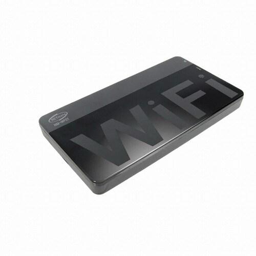 강원전자 NETmate NM-WF01 USB3.0 WiFi 외장 하드케이스 (하드미포함)_이미지