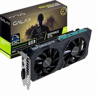 갤럭시 GALAX 지포스 GTX 1660 SUPER EX BLACK OC D6 6GB_이미지