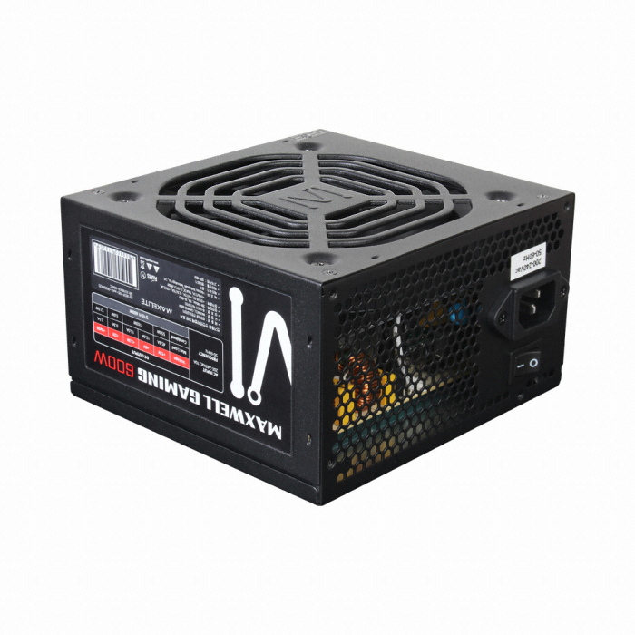 MAXELITE MAXWELL GAMING 600W 85PLUS