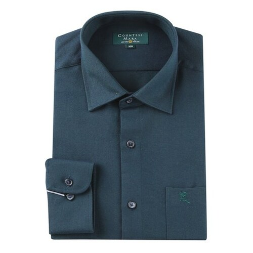 클리포드 카운테스마라 일반핏 긴소매 솔리드 기모 남방 셔츠 CDCR4C2105E0_이미지