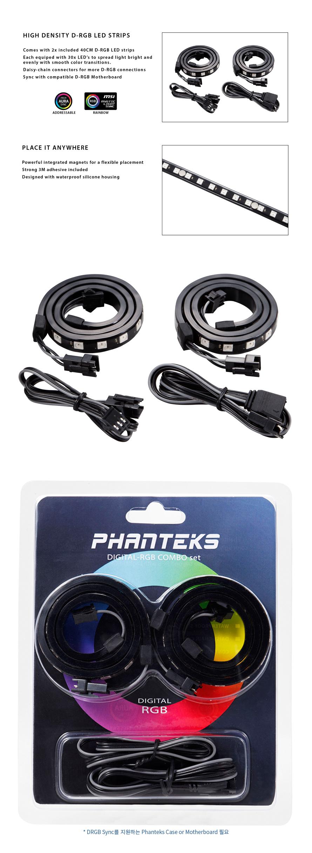 Phanteks  DIGITAL RGB LED COMBO KIT