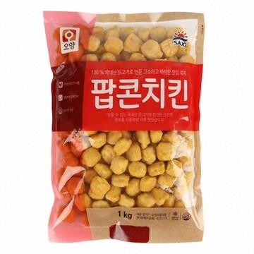 사조오양 팝콘치킨 1kg(1개)