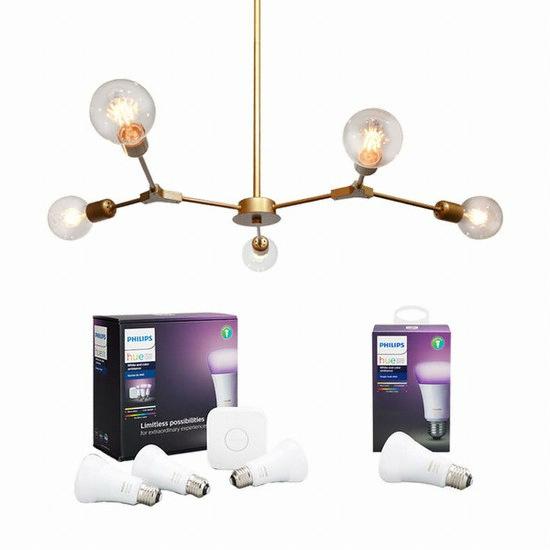필립스 라이팅 LED hue 별자리 조명 5등 50W