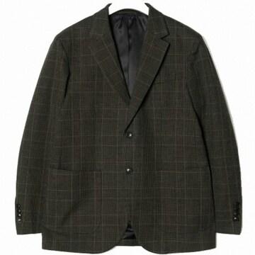 빈폴 카키 레트로 체크 재킷