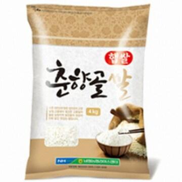 남원농협  춘향골쌀 신동진 4kg (1개)