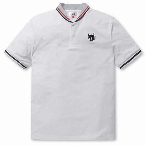 waac 셀럽 숄 카라 티셔츠 WMTCM19402WHX_이미지