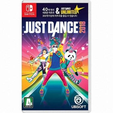 UBIsoft  저스트 댄스 2018 (Just Dance 2018) SWITCH (영문판,일반판)