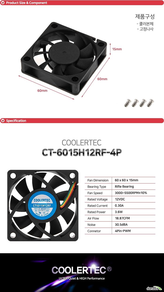COOLERTEC CT6015H12RF