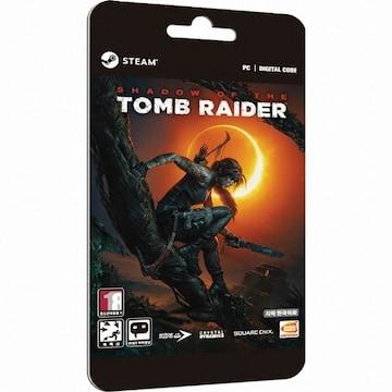 Crystal Dynamics 섀도우 오브 더 툼레이더 (Shadow of the Tomb Raider) PC(다운로드코드)
