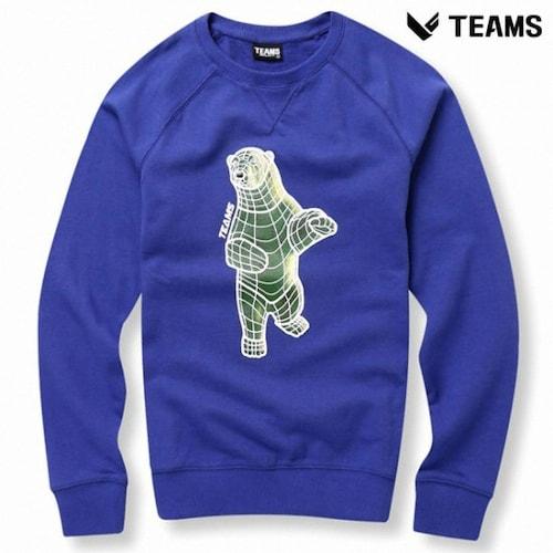 에이션패션 팀스폴햄 공용 폴라베어 프린팅 티셔츠 TPU3TR3434_PP_이미지