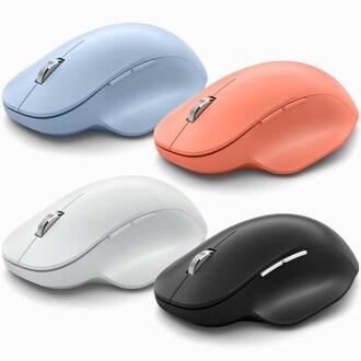 Microsoft Bluetooth Ergonomic Mouse (파스텔 블루)_이미지