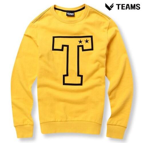 에이션패션 팀스폴햄 남성 로고 프린트 맨투맨 티셔츠 TPU3TR1412_MU_이미지