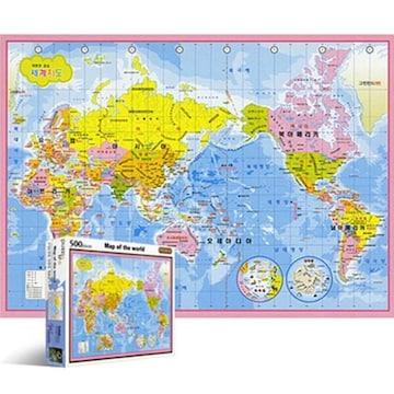 퍼즐라이프 세계지도 한글판