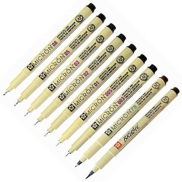 사쿠라  피그마 마이크론 펜