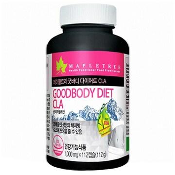 메이플트리 굿바디 다이어트 CLA 112캡슐(1개)