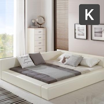 세진TLS 파로마 모던 다비드 저상형 침대 K (FM라텍스독립)