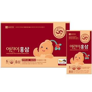 종근당건강 어린이 홍삼 20ml 30포 (1개)