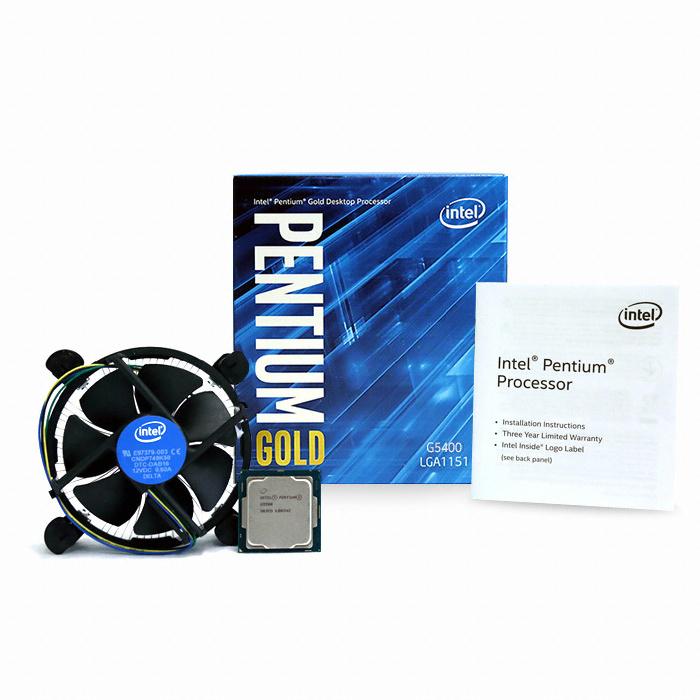 인텔 펜티엄 골드 G5400 (커피레이크) (정품)