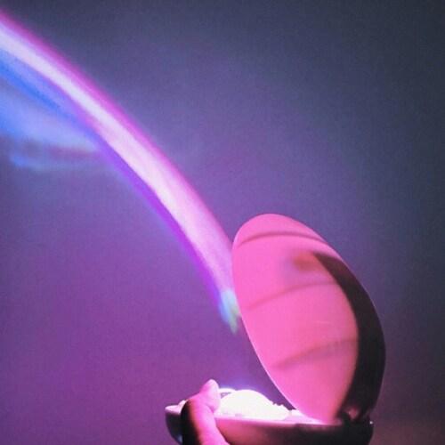디자인에버  LED 무지개 빔 메이커 무드등_이미지