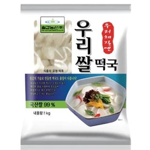 칠갑농산 우리쌀 떡국 1kg (2개)_이미지