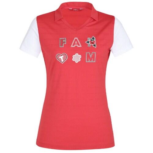 팬텀 아이콘 로고 반팔 카라 티셔츠 22102TO052_이미지