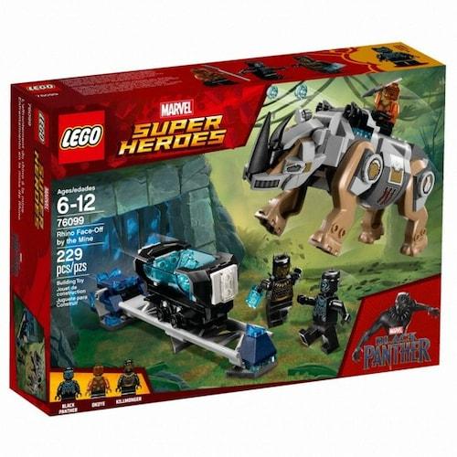 레고  마블 슈퍼히어로 라이노의 광산 지대 결투 (76099) (정품)_이미지