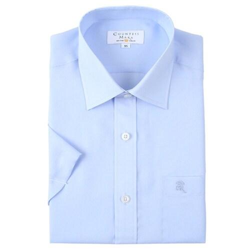 클리포드 카운테스마라 일반핏 반소매 아사 반소매 셔츠 CDCR2B1206B0_이미지
