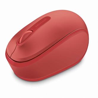 Microsoft 무선 모바일 마우스 1850 (레드, 정품)_이미지