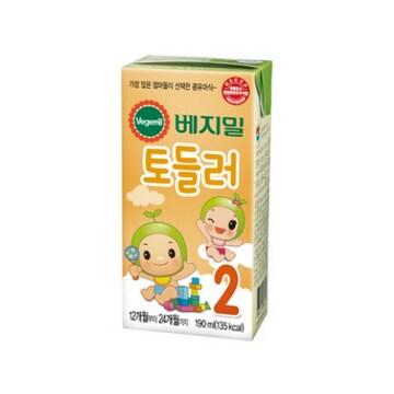 정식품  베지밀 토들러 2단계 190ml (48개)