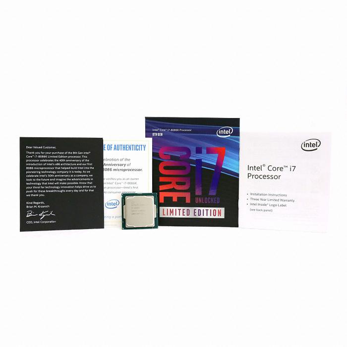 인텔 코어i7-8세대 8086K (커피레이크) (정품)