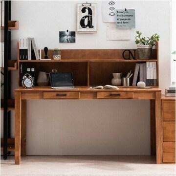 헤이미쉬홈  헤나 원목 컴퓨터 책상세트B (150x60cm)