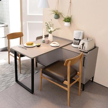 리바트  키친 트루 확장형 수납 식탁 (의자별도)