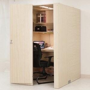 아이디어스터디 스터디룸 오른쪽문 독서실책상(116x60cm)