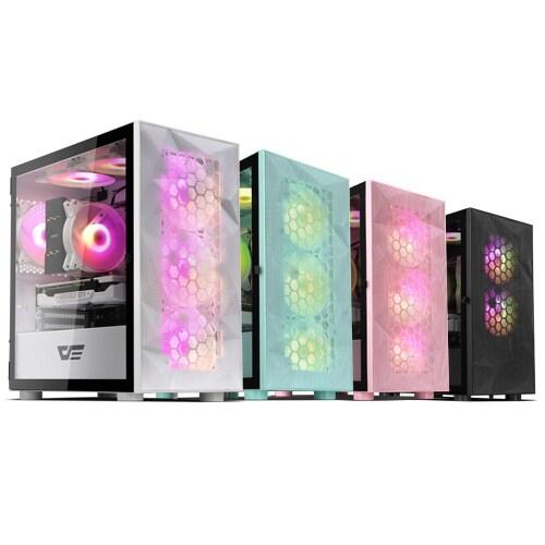 darkFlash DLM21 RGB MESH 강화유리 (화이트)_이미지