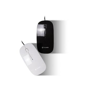 지클릭커 GM-CT110 무소음 유선마우스 (화이트)