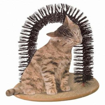 재미월드 고양이 셀프 털갈이 브러시