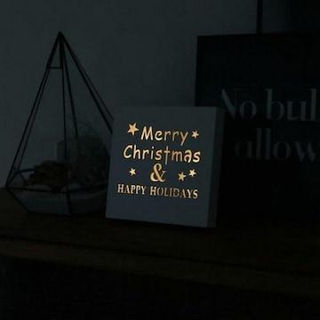 LED 메리크리스마스 레터링 무드등