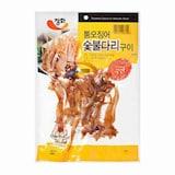정화식품 통오징어 숯불다리구이 50g  (5개)